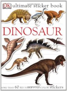 DK sticker book